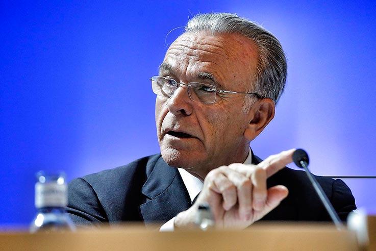 Isidro Fainé, presidente de Gas Natural Fenosa y la Fundación La Caixa, entre otras. FOTO: CAIXABANK.