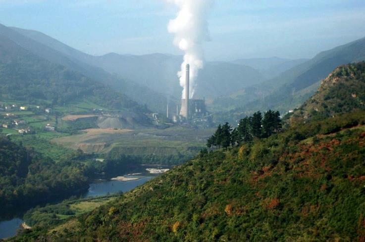Central de Cangas de Narcea (Asturias), propiedad de GNF.