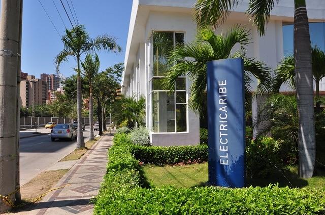 Sucursal de Electricaribe en Barranquilla, Colombia. Foto: Wikimedia Commons.
