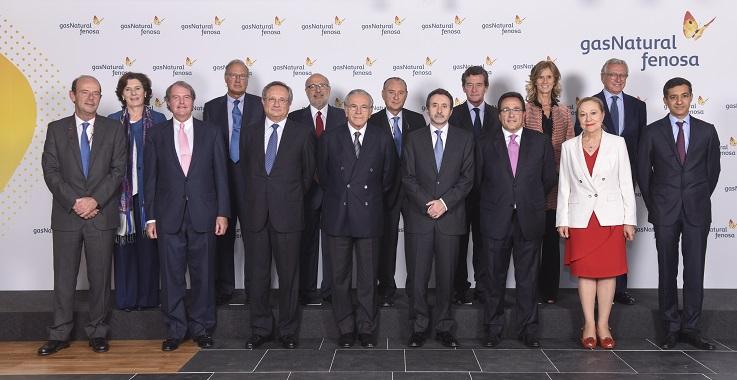 Actual Consejo de Administración de Gas Natural Fenosa. FOTO: GNF.
