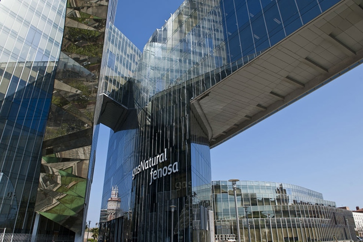 Sede de Gas Natural Fenosa en Barcelona. FOTO: GNF.