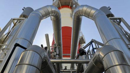 Infraestructura gasista en el Puerto de Barcelona. FOTO: GNF.