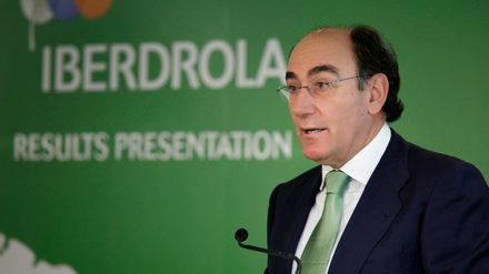 Juan Ignacio Sánchez-Galán, presidente de Iberdrola, en una imagen de archivo.