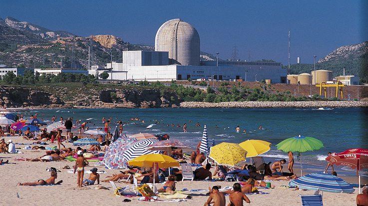 Central nuclear de Endesa en Vandellós, Tarragona. Foto: Endesa.