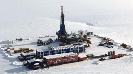 Planta de extracción de Repsol en Alaska. Foto: Repsol.