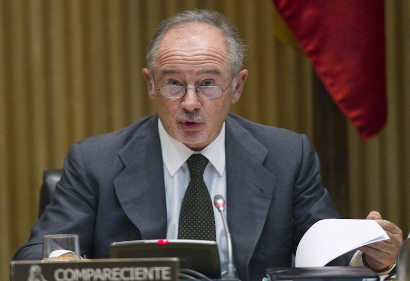 Rodrigo Rato durante una comparecencia ante el Parlamento en 2012. Foto: REUTERS / Susana Vera.
