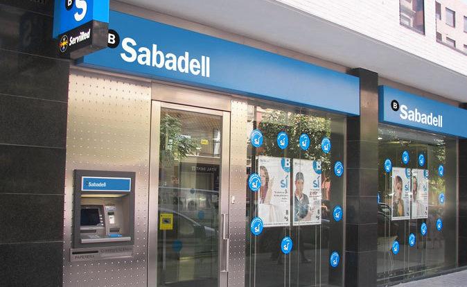Sucursal de Banco Sabadell. Foto: Banco Sabadell.