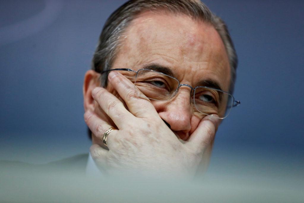 Florentino Pérez, president de la constructora ACS i el Reial Madrid. Foto: REUTERS / Juan Medina.
