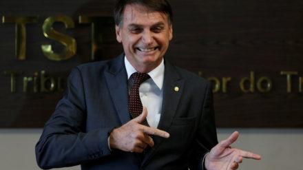 Jair Bolsonaro, presidente electo de Brasil. Foto: REUTERS/Adriano Machado