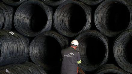 trabajadores de ArcelorMittal