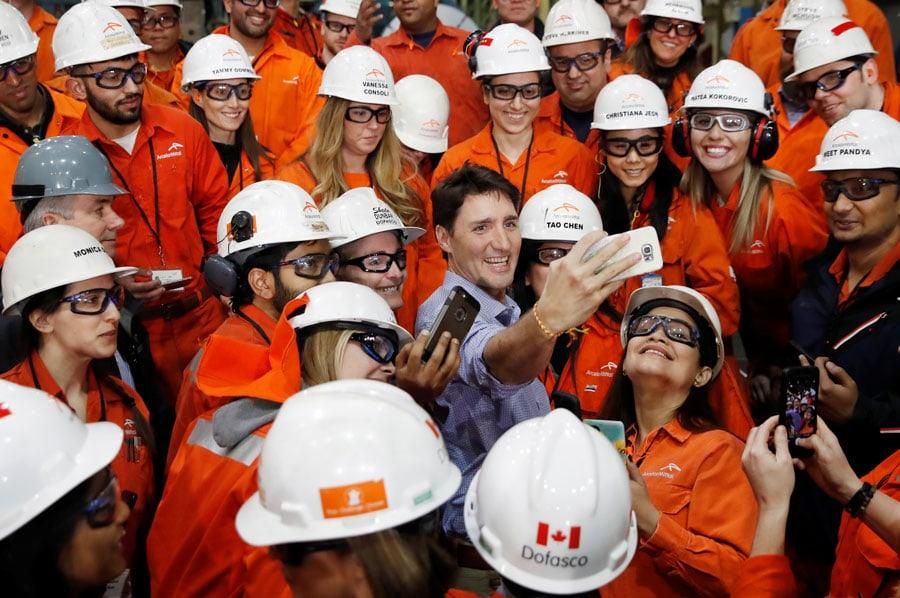 mujeres en ArcelorMittal