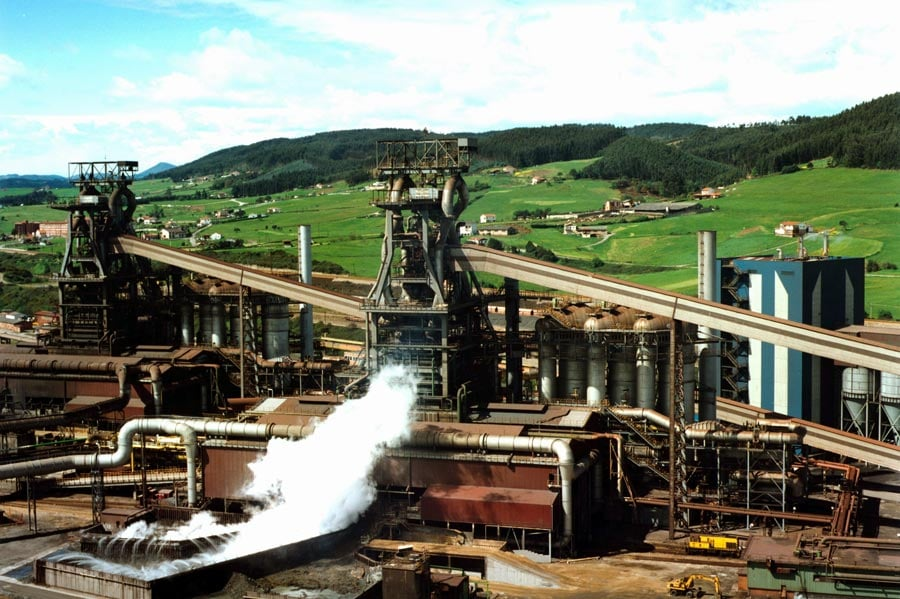 contaminación en arcelormittal
